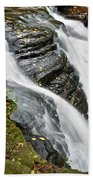Water Rushes Forth Beach Towel
