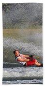 Water Skiing 10 Beach Towel