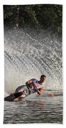 Water Skiing 12 Beach Towel