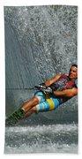 Water Skiing Magic Of Water 14 Beach Towel