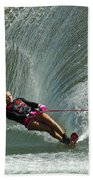 Water Skiing Magic Of Water 27 Beach Towel