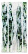 Water Spray Beach Towel