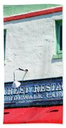Water Street 0772 Beach Towel