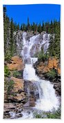 Water Water And More Water Hence Waterfall Beach Towel
