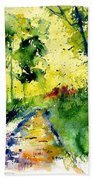 Watercolor 318012 Beach Towel