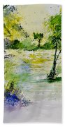Watercolor 413022 Beach Towel