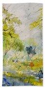 Watercolor 414061 Beach Towel