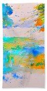 Watercolor 45314012 Beach Towel