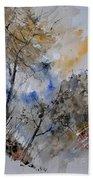 Watercolor 45319051 Beach Towel