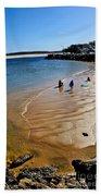 Watercolors At The Beach Beach Towel