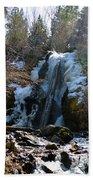 Waterfall 4 Beach Towel