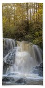 Waterfall After The Rain Beach Towel