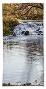 Waterfall At Bonneyville Beach Towel