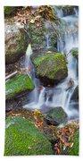 Waterfall In Marlay Park Beach Towel