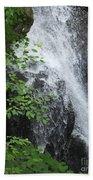 Waterfall Mine Kill State Park New York Beach Towel