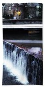 Waterfall New Hope Pa Beach Towel