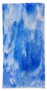 Waterfall Painting Beach Towel