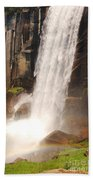 Waterfall Rainbow Beach Towel