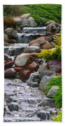 Waterfall Beach Towel by Tom Prendergast