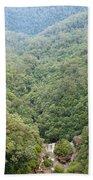 Waterfall Valley Beach Towel