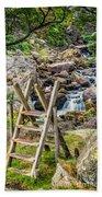 Waterfall Way Beach Towel