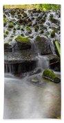 Waterfalls In Marlay Park Beach Towel