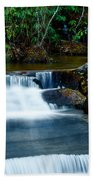 Waterfalls Of Carreck Creek Beach Towel
