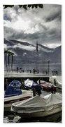 Waterfront At Ascona Beach Towel