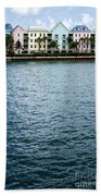 Waterfront Colors Beach Towel