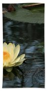 Waterlilly 1 Beach Towel