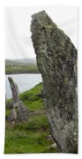Waters Edge Stones At Bernera Beach Towel