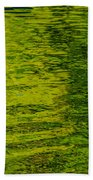 Water's Green Beach Towel by Roxy Hurtubise