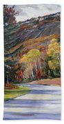 Waterville Road New Hampshire Beach Towel