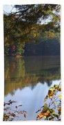 Watoga Lake Scene 1 Beach Towel