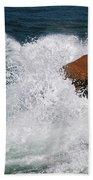 Wave Action Florianopolis Beach Towel