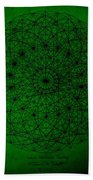 Wave Particle Duality II Beach Towel by Jason Padgett