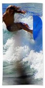 Wave Rider Beach Towel