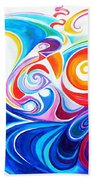 Wave Set Beach Towel