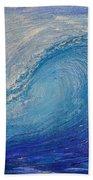 Wave Study Beach Towel