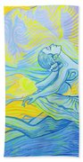 Waves And The Wind Beach Towel