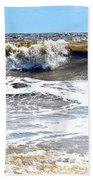 Waves At Tybee Beach Towel