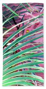 Waves Of Palm Beach Towel