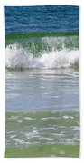 Waves Of The Gulf Of Mexico Beach Towel