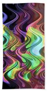 Wavy Beach Towel