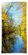 Waxen Autumn 1  Beach Towel