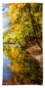 Waxen Autumn 3  Beach Sheet