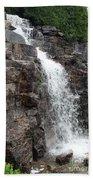 Wayside Waterfall I - Acadia Np Beach Towel