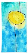 We Make A Family - Abstract Art By Sharon Cummings Beach Towel
