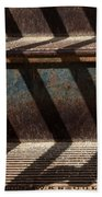 Weathered Stairs Beach Towel
