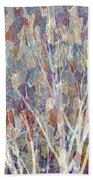 Web Of Branches Beach Towel